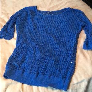 Sparkly knit sweater